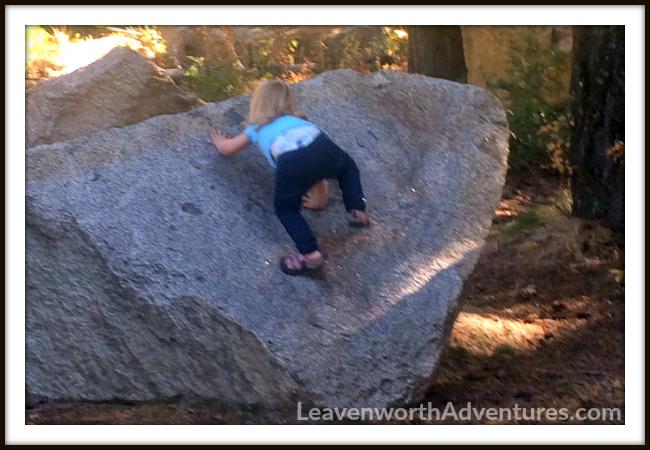 Bouldering in Leavenworth, WA - Follow my Adventures at LeavenworthAdventures.com
