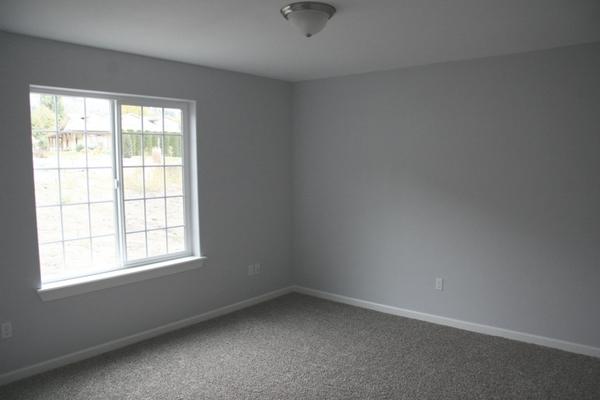 Empty Blank Bedroom