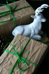 Neutral Wrapped Christmas Presents