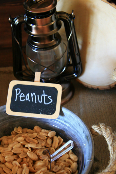 Trail Mix Peanuts from my son's Outdoor Adventure Birthday Party. Check it out at LeavenworthAdventures.com